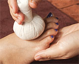 Traditional Thai Massage - Thai Herbal Ball Massage